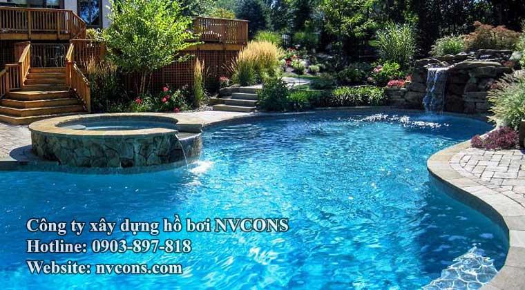 xây dựng bể bơi