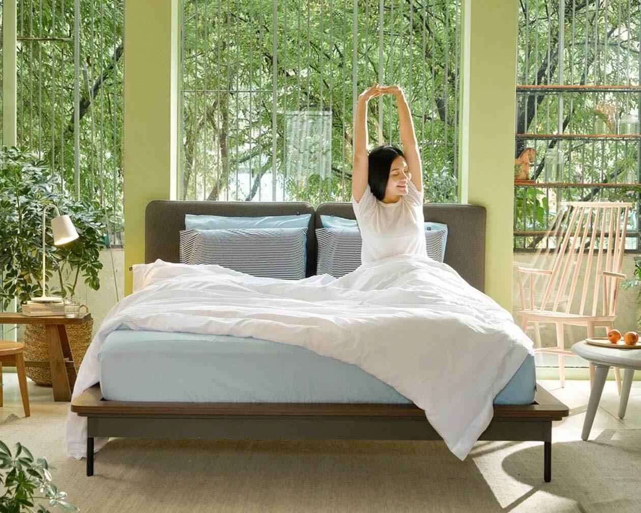 nệm ga giường mát mẻ
